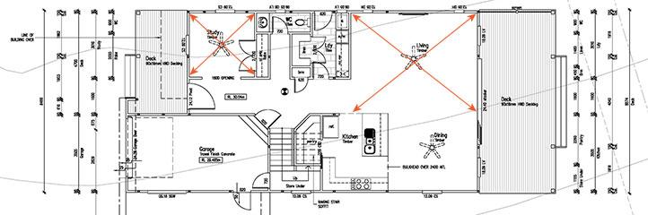 building designer has great spatial awareness