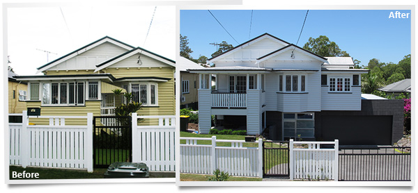 Major Home Renovation Before and After