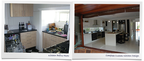 Kitchen Before and After Photos