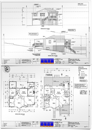 architectural plans for building
