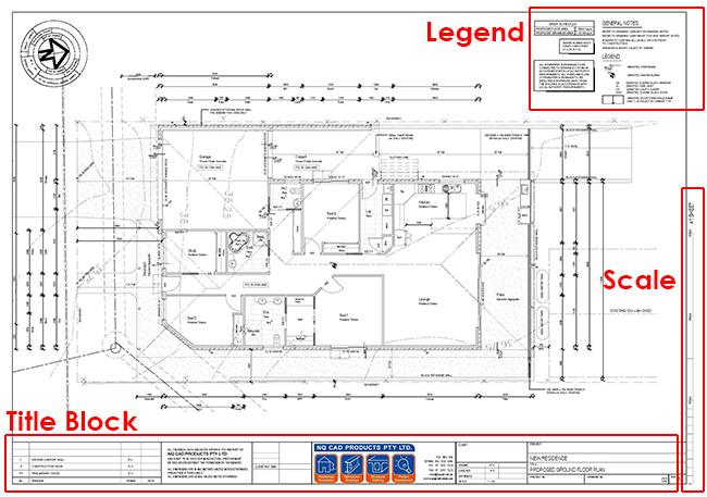 Home Floor Plan Elements