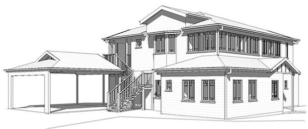 3D Brisbane house designs