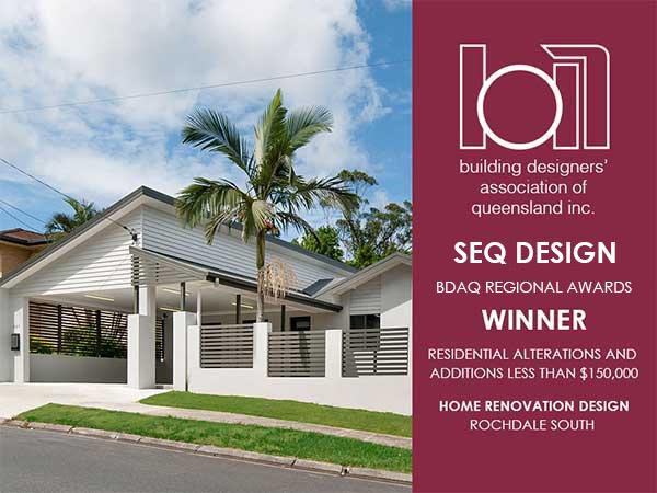 BDAQ Rochedale Home Design Award